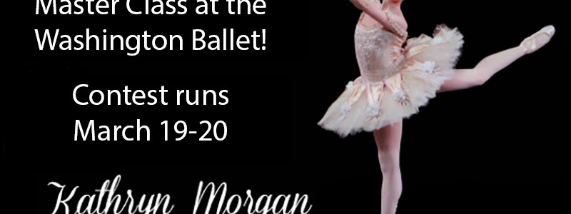 Win A Free Master Class at the Washington Ballet!