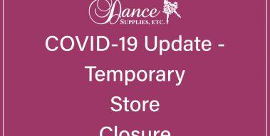 COVID-19 Update – Store Closed March 18-29