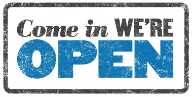 We Are Now Open On Sunday's!