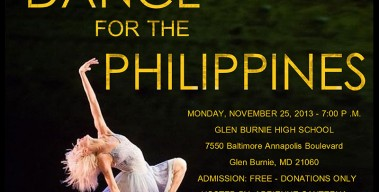 Dance For The Philippines Benefit Event – Nov. 25