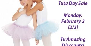 National Tutu Day – Monday, February 2
