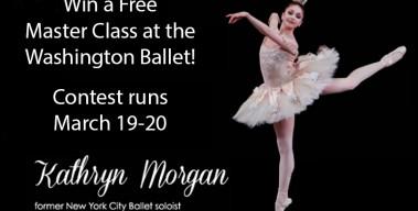Win A Free Master Class at the Washington Ballet!