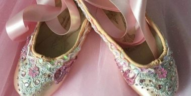 Pointe Shoe Decorating Contest – Enter by Nov. 30!
