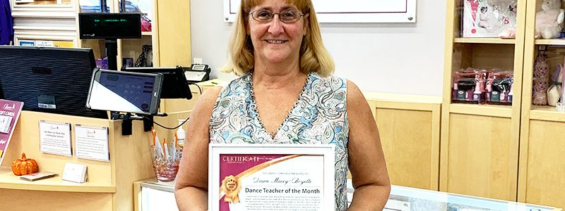 October Teacher of the Month – Dawn Macey-Boyette!