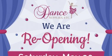 We are Re-Opening, Saturday, May 30!