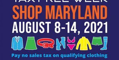 Tax-Free Week: August 8-14